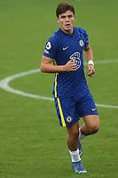 Leo Castledine of Chelsea U19's during Chelsea Under-19 vs FC Zenit Under-19, UEFA Youth League Football at Cobham Training Ground on 14th September 2021