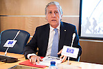 Politic Diego Lopez Garrido involved in the presentation of the report on the State of the European Union in Madrid. June 02. 2016. (ALTERPHOTOS/Borja B.Hojas)