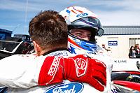 #66 Ford Chip Ganassi Racing Ford GT, GTLM: Joey Hand, Dirk Mueller, Celebrating GTLM Victory