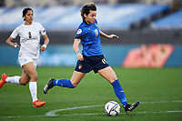 Valentina Giacinti  of Italy scores a goal during the Women s EURO 2022 qualifying football match between Italy and Israel at stadio Carlo Castellani in Empoli (Italy), February, 24th, 2021. Photo Image Sport / Insidefoto