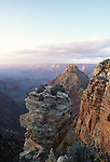 View from the South Rim east of Mather Point, Grand Canyon National Park, Arizona, USA