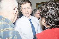 Pete Buttigieg - House Party with Bedford Democrats - Bedford, NH - 20 Apr 2019