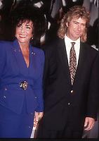 Elizabeth Taylor husband Larry Fortensky 1991<br /> Photo By John Barrett/PHOTOlink