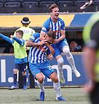 19.05.2019 Kilmarnock v Rangers: Eamonn Brophy celebrates his goal