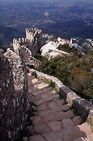 Ramparts of Castelo dos Mouros, Sintra, Portugal