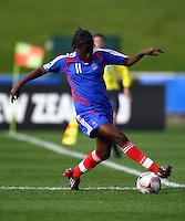 Marina Makanza (FRA)..FIFA U17 Women's World Cup, USA v France, Albany Stadium, Auckland, New Zealand, Wednesday 5 November 2008. Photo: Renee McKay/PHOTOSPORT
