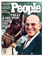 People cover, Telly Savalas, April 1976. Photo by John G. Zimmerman.