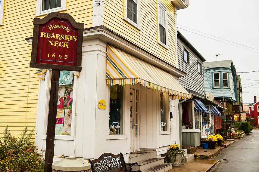 Historic Bearskin Neck district, Rockport, Massachusetts, USA