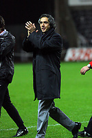 ATTENTION SPORTS PICTURE DESK<br /> Pictured: Paulo Sousa Manager of Swansea City<br /> Re: Coca Cola Championship, Swansea City Football Club v Plymouth Argyle at the Liberty Stadium, Swansea, south Wales. Tuesday 08 December 2009