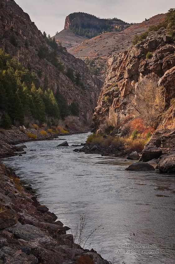 Gunnison River at The Entrance To Black Canyon, Colorado