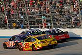 #22: Joey Logano, Team Penske, Ford Fusion Shell Pennzoil #11: Denny Hamlin, Joe Gibbs Racing, Toyota Camry FedEx Express