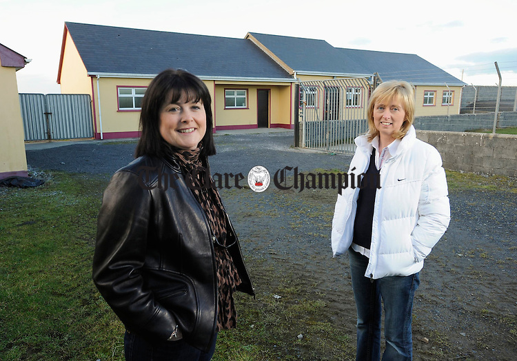 Caragh Griffin, chairperson of St Joseph's GAA club, Miltown Malbay and Breda Keane, vice chairperson Photograph by John Kelly.