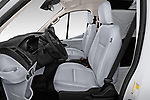 Front seat view of a 2019 Ford Transit Van 250 LR 4 Door Cargo Van front seat car photos