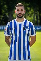 17th August 2020; Berlin, Germany. Hertha Berlin official Bundesliga season portraits, season 2020-21:  Marvin Plattenhardt Hertha BSC, No.21
