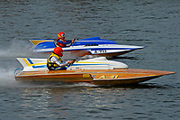 "A-711 ""Gemini"" (1972 2.5 Litre Mod class Lauterbach hydroplane), A-41 Brian Joseph, ""Something Special"", (1986 Lauterbach 2.5 Mod class hydroplane)"