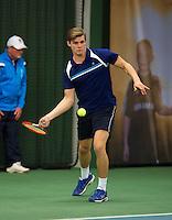 Januari 24, 2015, Rotterdam, ABNAMRO, Supermatch, Rens Kamphuis<br /> Photo: Tennisimages/Henk Koster