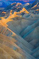 Sunset in Death Valley California at Zabrisky Point