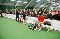 19-01-14,Netherlands, Rotterdam,  TC Victoria, Wildcard Tournament,  Final,  Fabian van der Lans (NED)<br /> Photo: Henk Koster