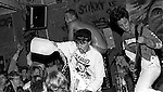 RKL at Gilman Street. Brian Wentrup pouring water on crowd.<br />