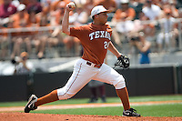 Green, Cole 0478.jpg.  Big 12 Baseball game with Texas A&M Aggies at Texas Lonhorns  at UFCU Disch Falk Field on May 9th 2009 in Austin, Texas. Photo by Andrew Woolley.