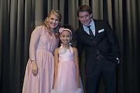 First, Second & Third Place Winners of the 2012 Nebraska's Got Talent: Francesca, Nick and Amanda