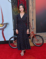 "LOS ANGELES, USA. August 27, 2019: Maia Shibutani at the premiere of ""IT Chapter Two"" at the Regency Village Theatre.<br /> Picture: Paul Smith/Featureflash"
