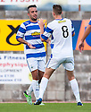 Morton's Dougie Imrie celebrates after he scores their fifth goal.
