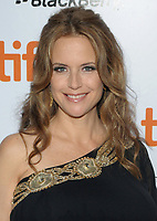 """12 July 2020 - Actress and wife of John Travolta Kelly Preston dead at age 57 from breast cancer. 16 September 2010 - Toronto, Ontario, Canada - Kelly Preston. """"Casino Jack"""" Premiere during the 2010 Toronto International Film Festival held at Roy Thompson Hall. Photo Credit: Brent Perniac/AdMedia"""