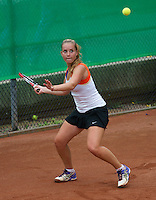 August 8, 2014, Netherlands, Rotterdam, TV Victoria, Tennis, National Junior Championships, NJK,   Inger van Dijkman (NED)<br /> Photo: Tennisimages/Henk Koster