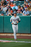 Christian Walker (9) of the Reno Aces during the game against the Salt Lake Bees in Pacific Coast League action at Smith's Ballpark on June 15, 2017 in Salt Lake City, Utah. The Aces defeated the Bees 13-5. (Stephen Smith/Four Seam Images)