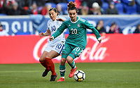 Harrison, N.J. - Sunday March 04, 2018: Lina Magulll during a 2018 SheBelieves Cup match between the women's national teams of the Germany (GER) and England (ENG) at Red Bull Arena.