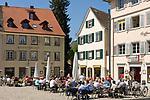 DEU, Deutschland, Baden-Wuerttemberg, Bodensee, Konstanz: Cafes am Muensterplatz | DEU, Germany, Baden-Wuerttemberg, Lake Constance, Constance: cafes at Minster Square