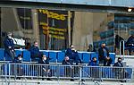 President of Real Sociedad Jokin Aperribay during  La Liga match round 10 between Cadiz CF and Real Sociedad at Ramon of Carranza Stadium in Cadiz, Spain, as the season resumed following a three-month absence due to the novel coronavirus COVID-19 pandemic. Nov 22, 2020. (ALTERPHOTOS/Manu R.B.)