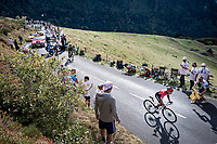 Nairo Quintana (COL/Arkea-Samsic) up the Puy Mary (uphill finish)<br /> <br /> Stage 13 from Châtel-Guyon to Pas de Peyrol (Le Puy Mary) (192km)<br /> <br /> 107th Tour de France 2020 (2.UWT)<br /> (the 'postponed edition' held in september)<br /> <br /> ©kramon