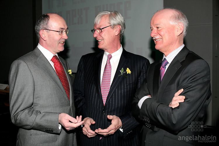 IFSC Phase 2.Institude of Bankers.Paul Haran( UCD Smurfit School of Business), John Sievwright (Merrill Lynch), Patrick Neary(Financial Director) Paul Haran( UCD Smurfit School of Business), John Sievwright (Merrill Lynch), Patrick Neary(Financial Director).