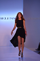 MIAMI BEACH, FL - JULY 20: A model walks the runway at the Belusso show during the Mercedes-Benz Fashion Week Swim 2015 at The Raleigh on July 20, 2014 in Miami Beach, Florida.<br />