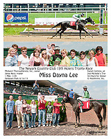 Miss Dayana Lee winning at Delaware Park on 6/15/13