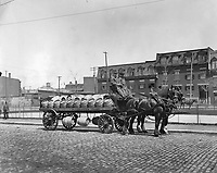 1908 file photo - Molson's brewery carriage in Montreal