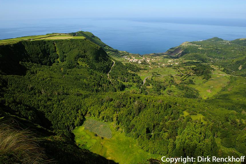 Fajazinha auf der Insel Flores, Azoren, Portugal