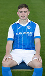 St Johnstone FC Season 2017-18 Photocall<br />Craig Thomson<br />Picture by Graeme Hart.<br />Copyright Perthshire Picture Agency<br />Tel: 01738 623350  Mobile: 07990 594431
