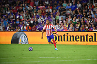 Orlando, FL - Wednesday July 31, 2019:  Renan Lodi #12 during an Major League Soccer (MLS) All-Star match between the MLS All-Stars and Atletico Madrid at Exploria Stadium.