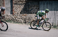 Marcel Kittel (DEU/QuickStep Floors) is far behind the main bunch and won't grab any points today<br /> <br /> 104th Tour de France 2017<br /> Stage 16 - Le Puy-en-Velay › Romans-sur-Isère (165km)