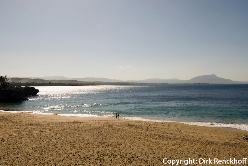 Dominikanische Republik, Strand Playa Libre in Sosua