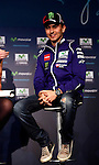 Movistar Yamaha MotoGP host 2015 team launch in Madrid. In the pic: Jorge Lorenzo. January 28, 2015. (ALTERPHOTOS/Caro Marin)