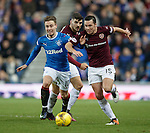 Barrie McKay with Callum Paterson and Don Cowie
