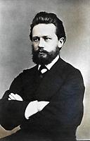 Русский композитор Петр Ильич Чайковский, 1867 год / Russian composer Pyotr Ilyich Tchaikovsky, 1867