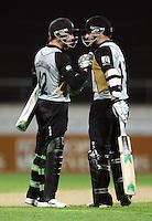 090227 International Twenty20 Cricket - NZ Black Caps v India