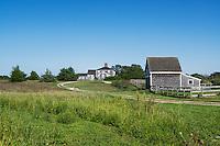 New England farmhouse.
