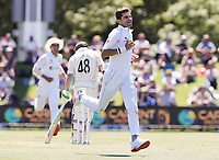 Shaheen Shah Afridi of Pakistan during day two of the second International Test Cricket match between the New Zealand Black Caps and Pakistan at Hagley Oval in Christchurch, New Zealand on Monday, 4 January 2021. Photo: Martin Hunter / lintottphoto.co.nz