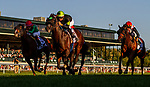 OCT 05: Bowies Hero with Flavien Prat wins the Shadwell Turf Mile at Keeneland Racecourse, Kentucky on October 05, 2019. Evers/Eclipse Sportswire/CSM